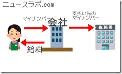 マイナンバー制度の流れを解説した画像