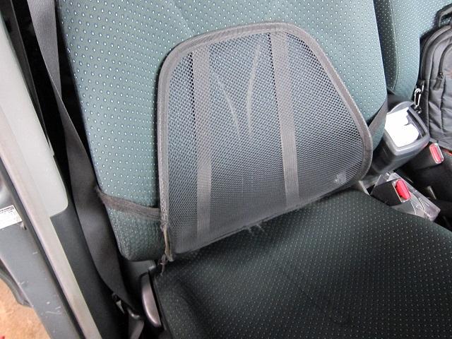 レカロシートを購入する前に使用していたランバーサポート