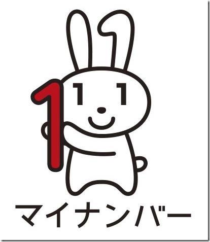 マイナンバー広報用ロゴマークのマイナちゃん