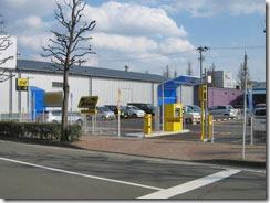 仙台楽天スタジアムの周辺の駐車場の画像