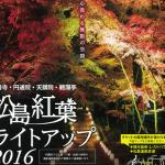 松島 円通院の紅葉2016!見頃の時期とライトアップ期間はいつ頃?